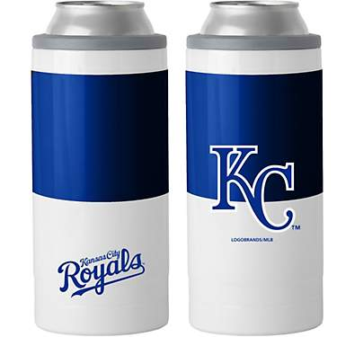 Logo Kansas City Royals Colorblock 12 oz Slim Can Coolie