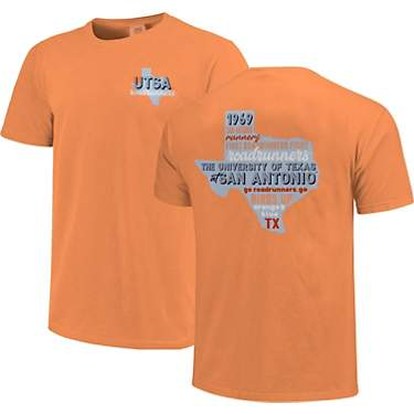 Image One Women's University of Texas at San Antonio Comfort Color All Type State Short Sleeve T-shirt