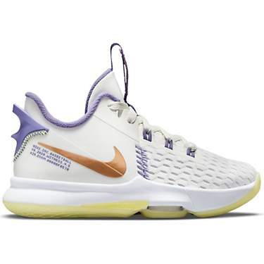 Nike Youth LeBron Witness 5 Basketball Shoes