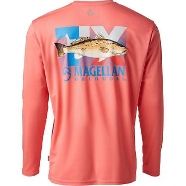 Magellan Outdoors Men's Local State Graphic Texas Crew Long Sleeve T-shirt