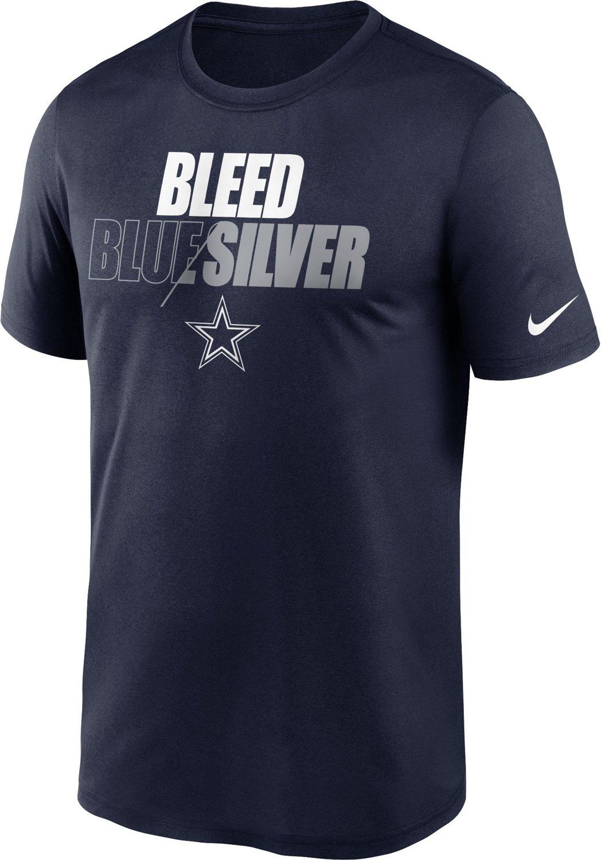 Nike Men's Dallas Cowboys Bleed Team Color Legend T-Shirt