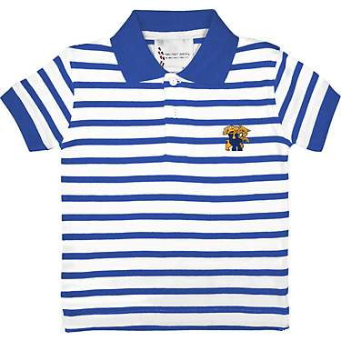 Two Feet Ahead Toddlers' University of Kentucky Stripe Golf Short Sleeve Shirt