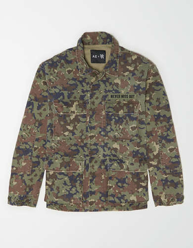 AE X Urban Necessities Military Jacket
