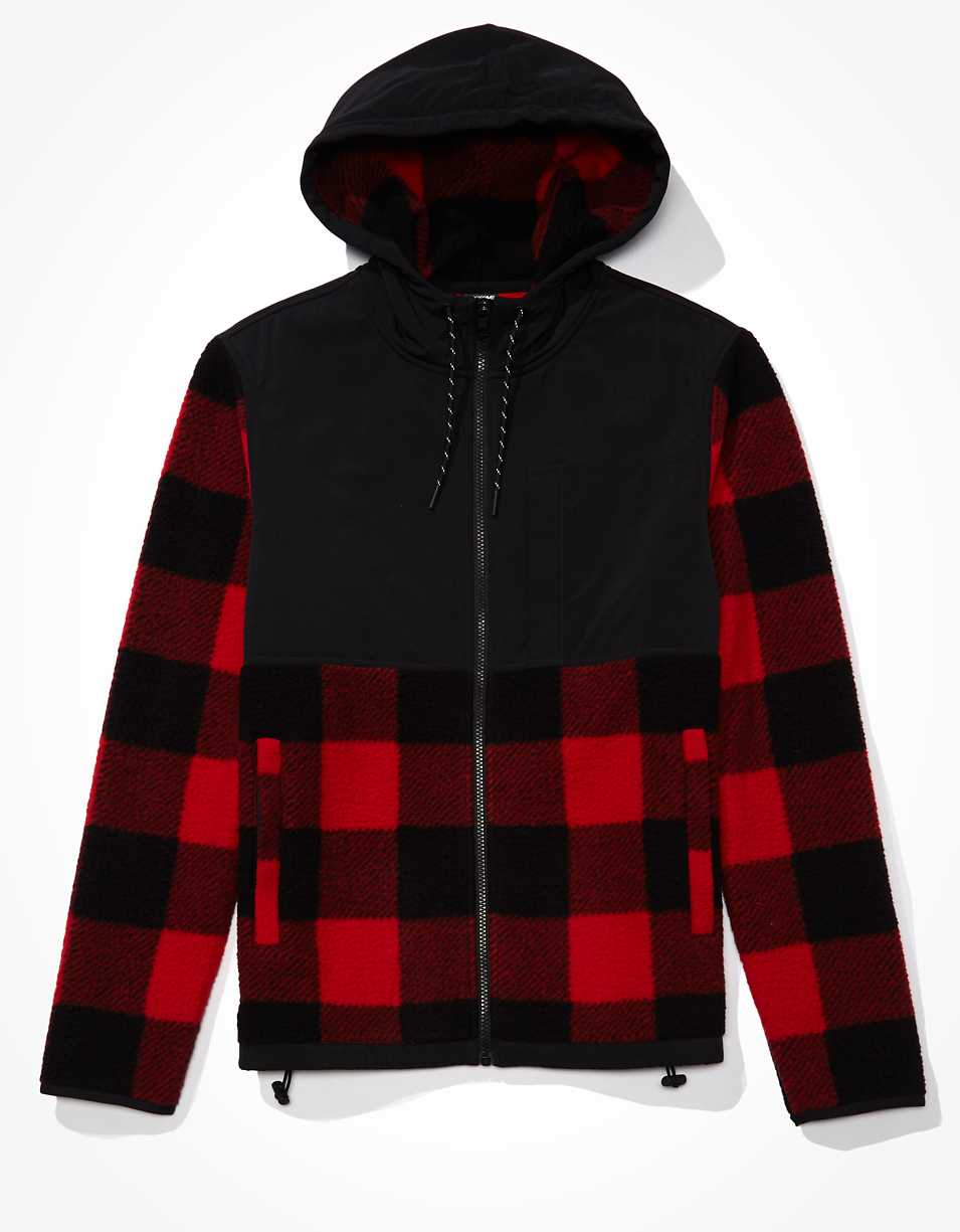 AE Hooded Sherpa Jacket