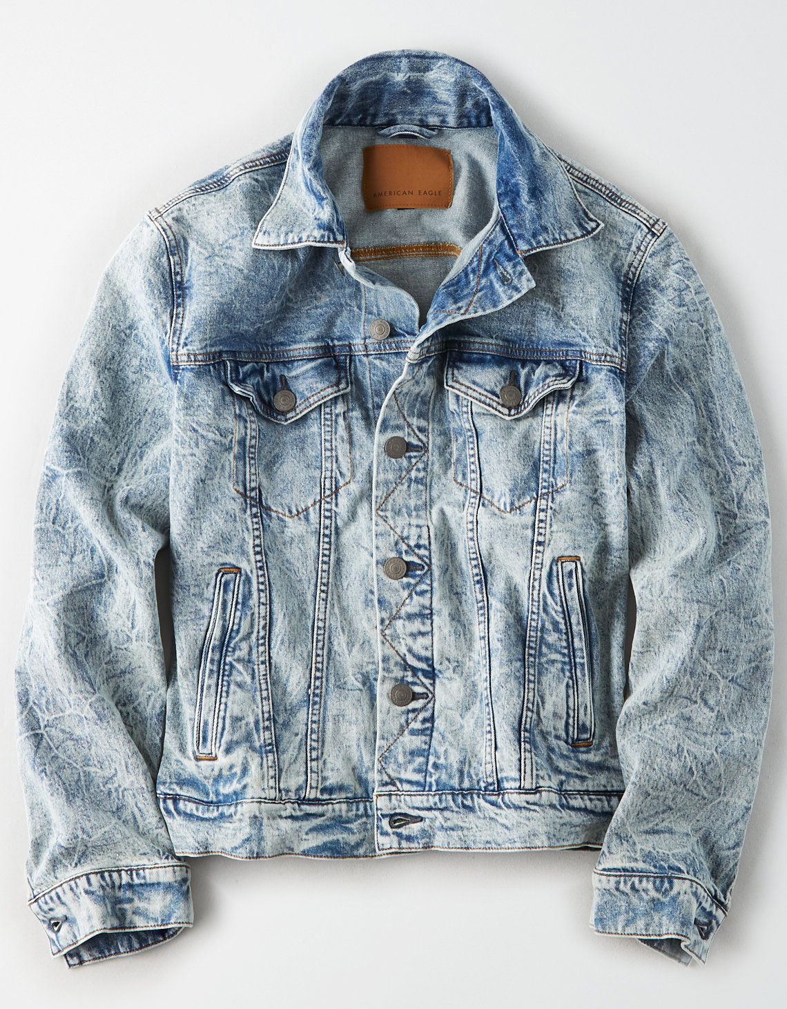 AE Acid Wash Denim Jacket