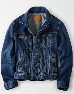 94196f3e placeholder image AE Dark Wash Denim Jacket ...
