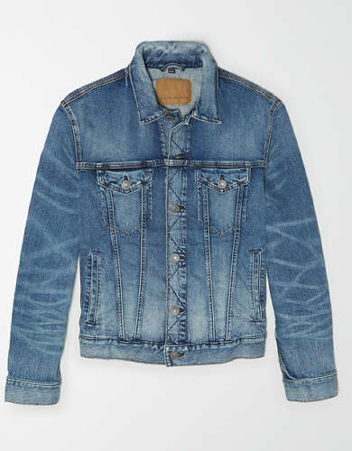 AE Manteau en denim
