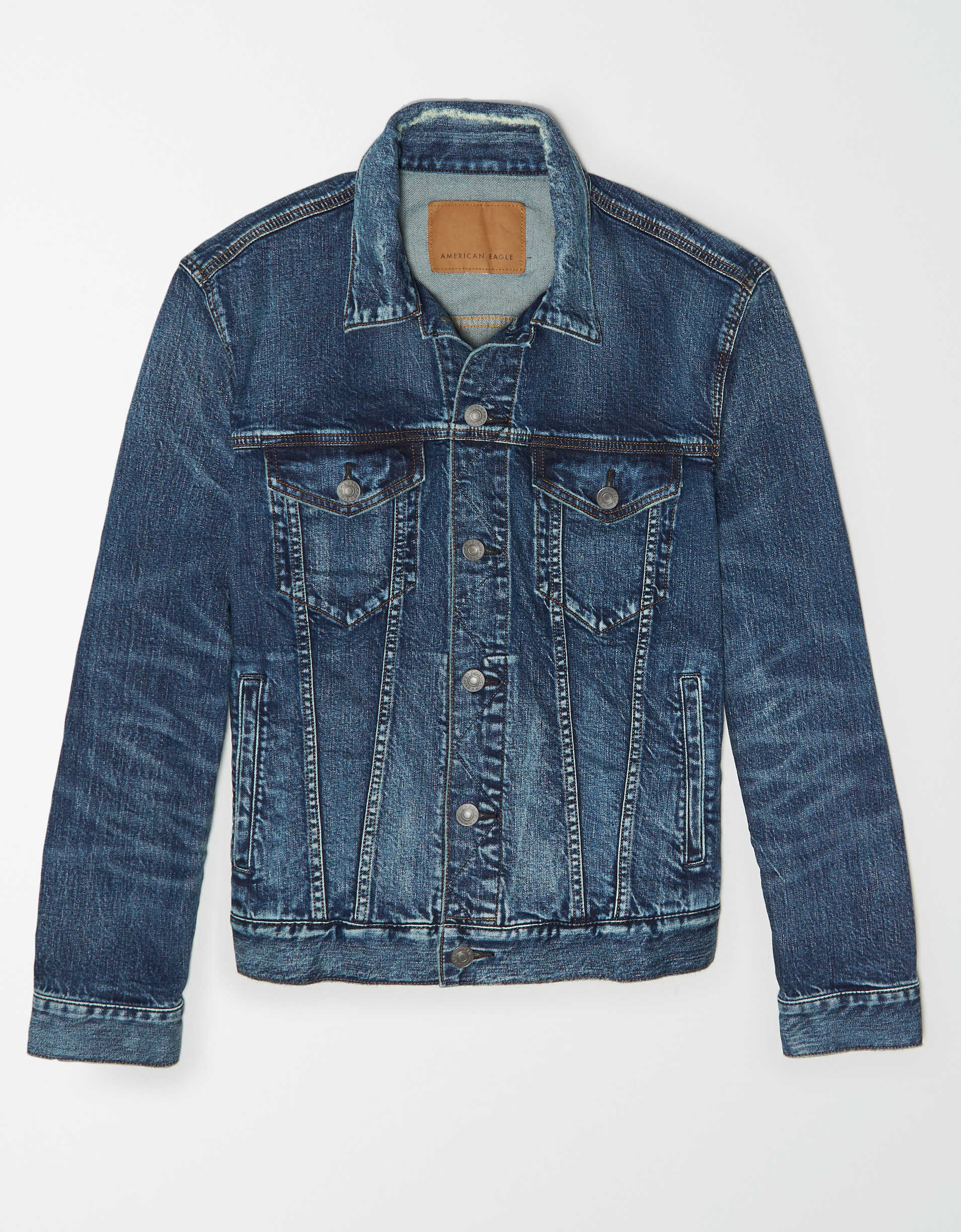 AE Dark Wash Denim Jacket