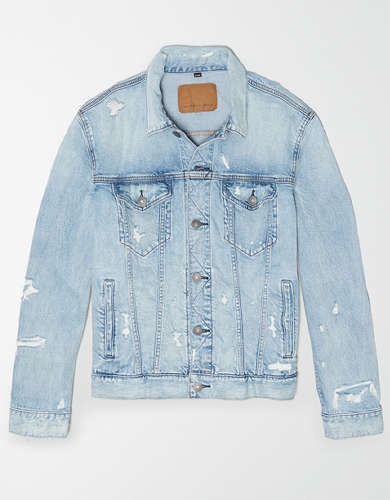 AE Destroy Denim Jacket