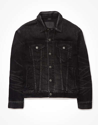 AE Black Denim Jacket