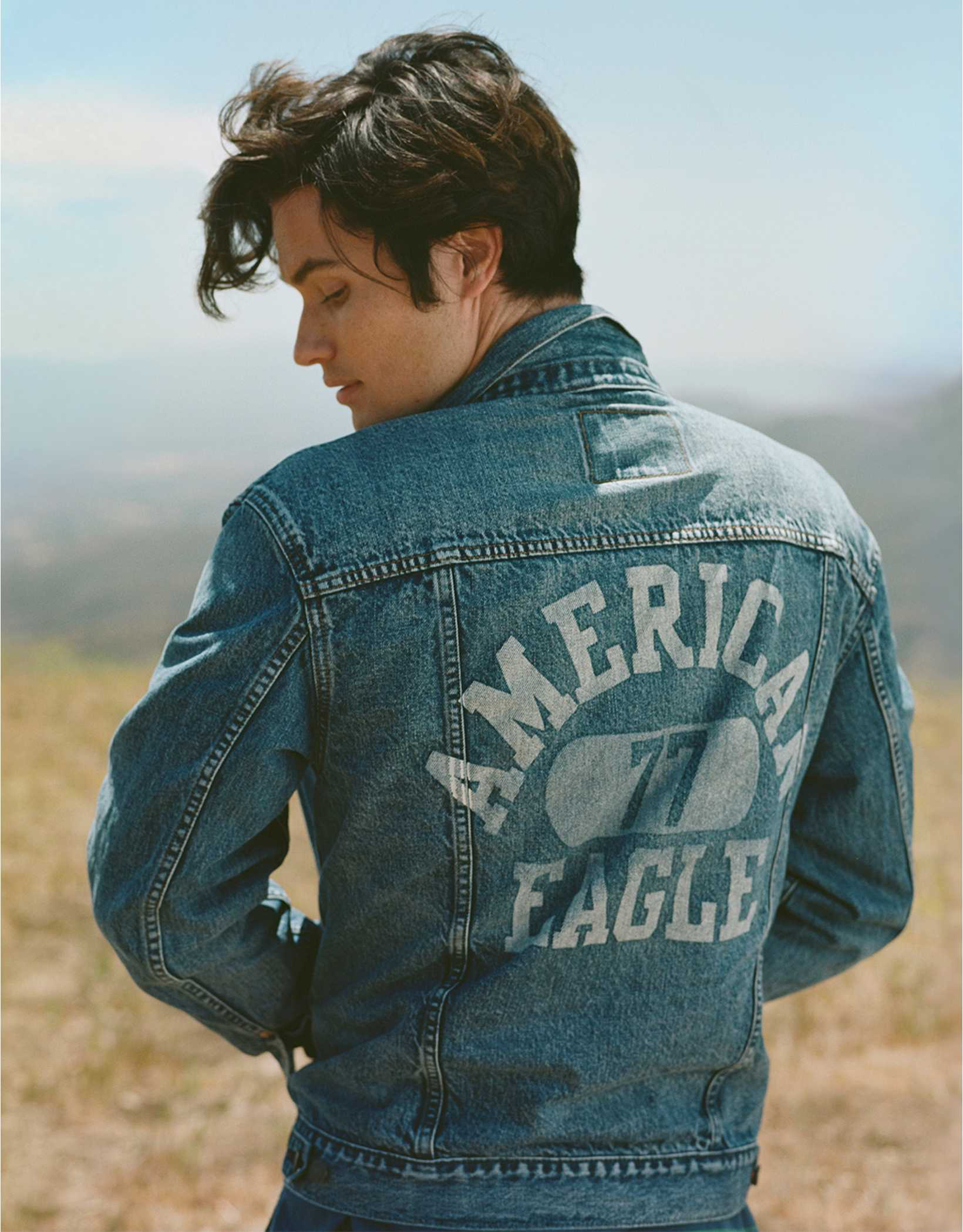 AE Logo Denim Jacket