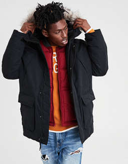 Ae Expedition Anorak Parka by American Eagle Outfitters