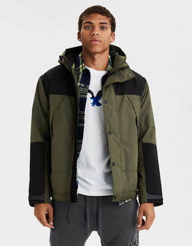 AE Hooded All Weather Parka