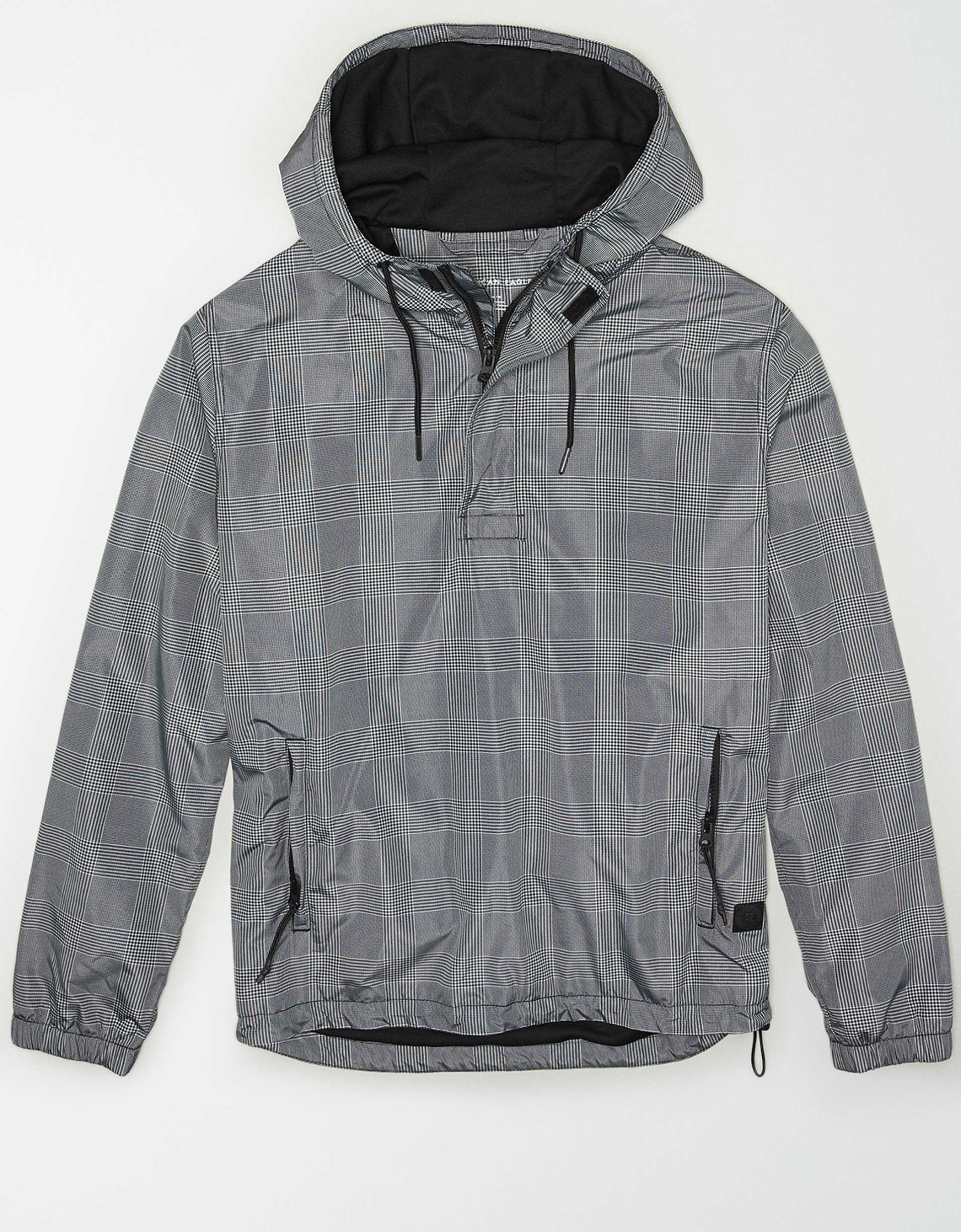 AE Plaid Anorak Jacket