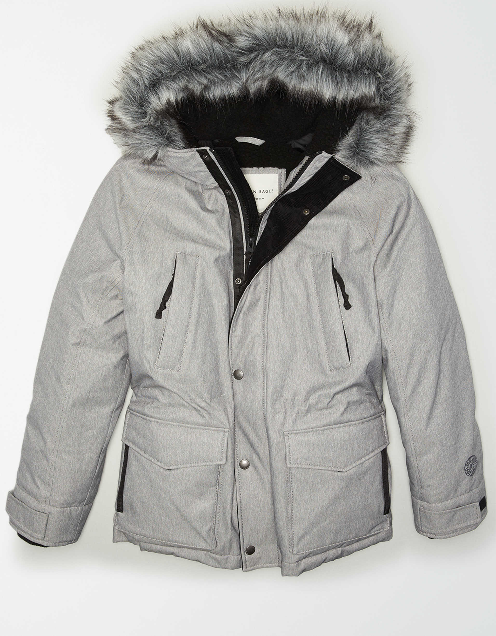 AE Fuzzy Sherpa Lined Expedition Parka