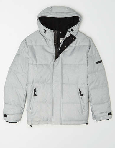 AE Heathered Puffer Jacket