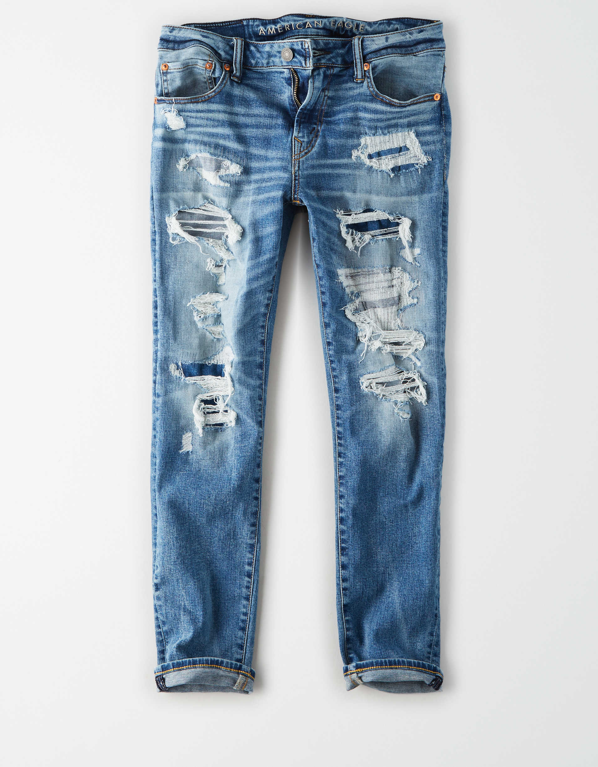 AE Ne(X)t Level AirFlex Skinny Cropped Jean