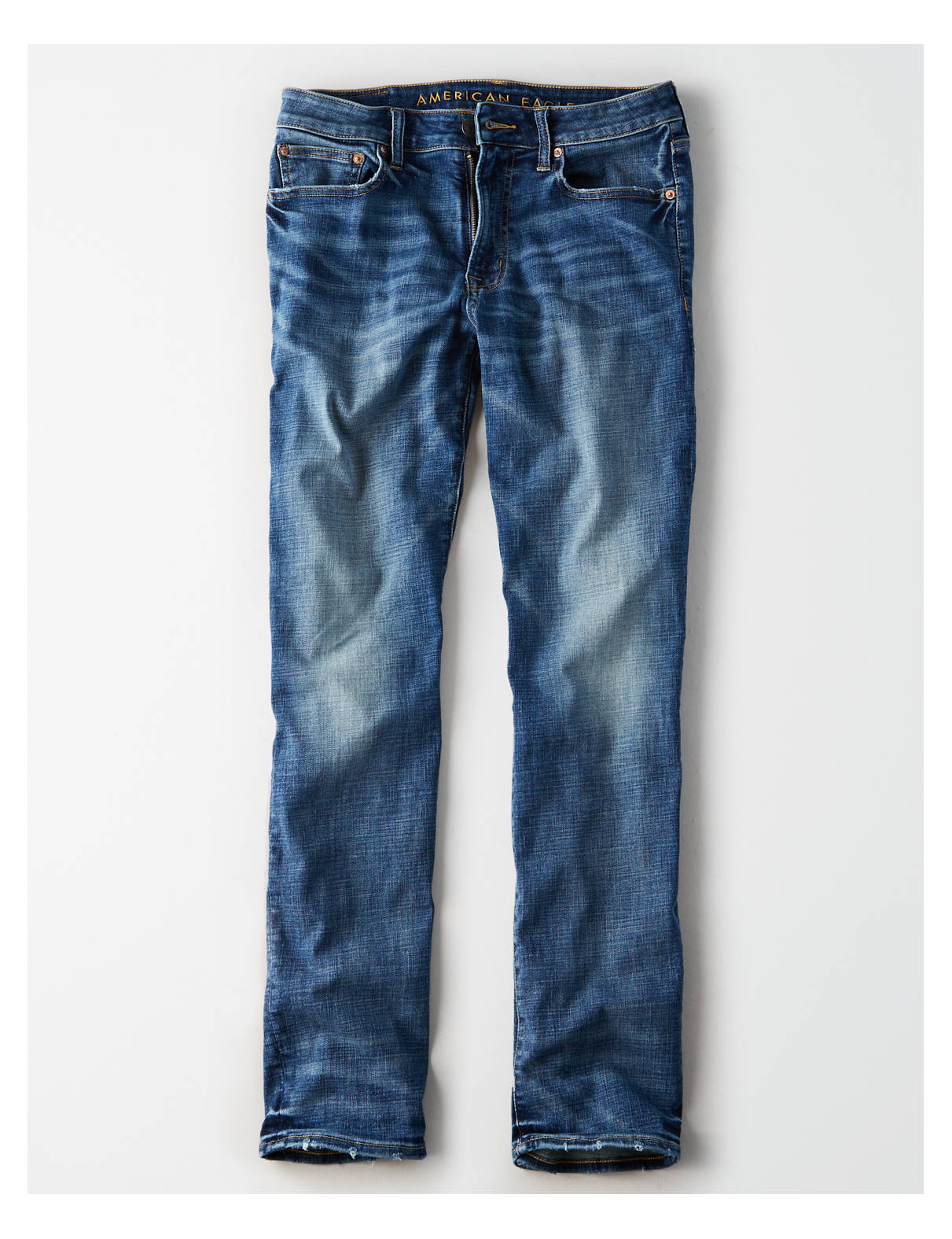 Display product reviews for AE Ne(X)t Level Original Straight Jean
