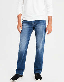 7cab8f8d placeholder image AE Flex Relaxed Straight Jean ...