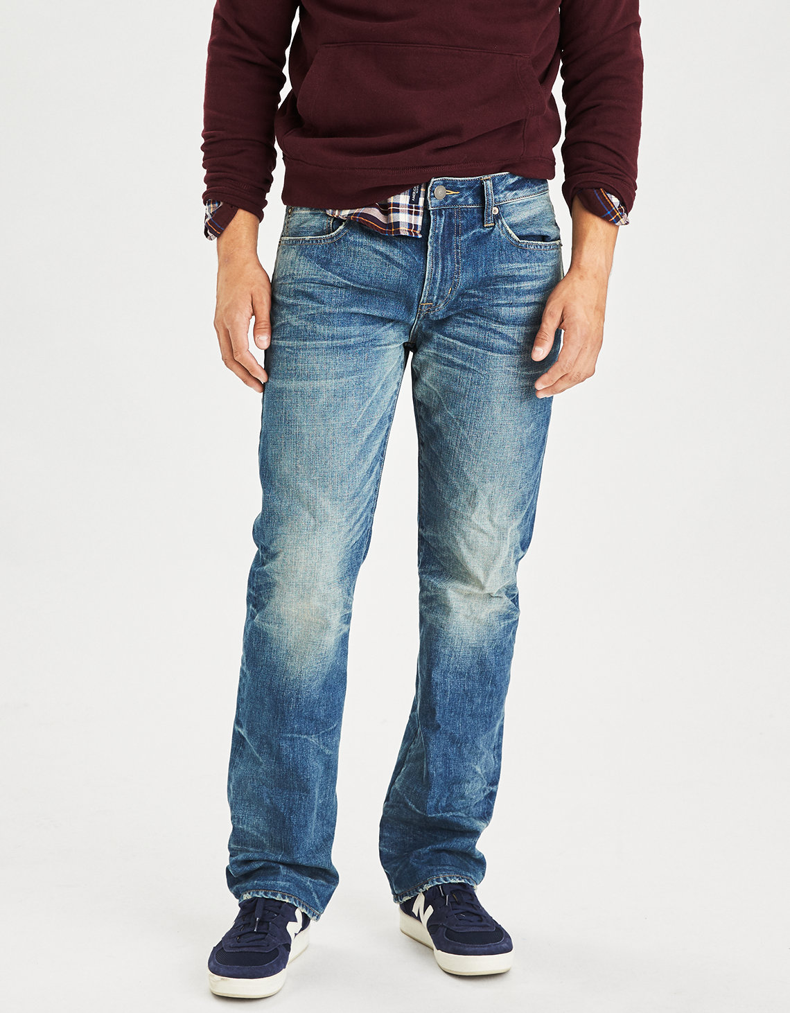Classic Bootcut Jean. Placeholder image. Product Image