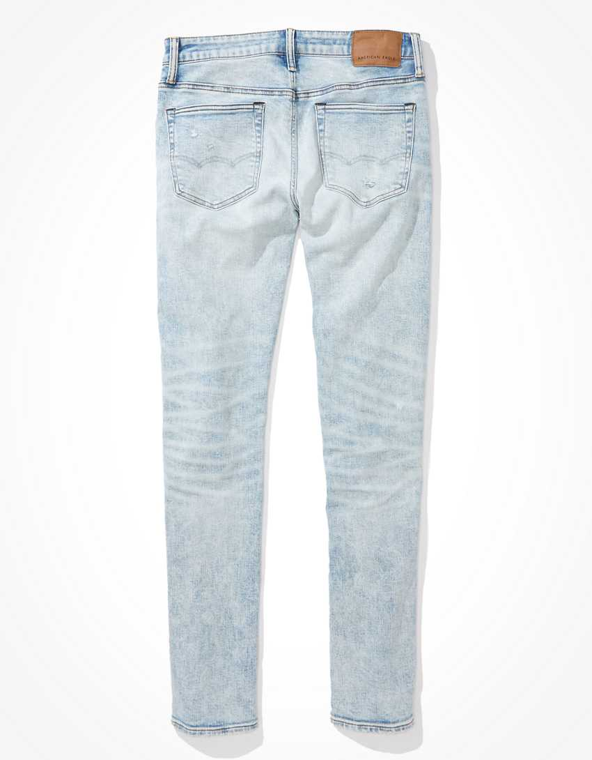 AE AirFlex+ Temp Tech Patched Athletic Skinny Jean
