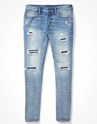 Атлетические джинсы скинни AE AirFlex+