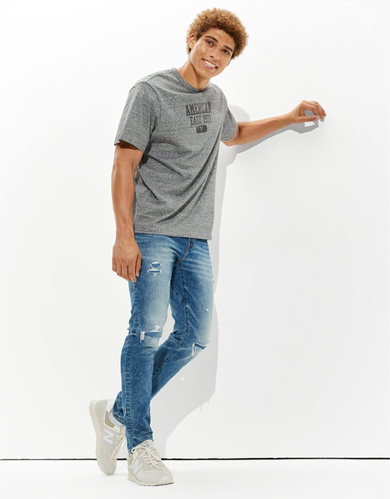 AE AirFlex 360 Move-Free Ripped Athletic Skinny Jean