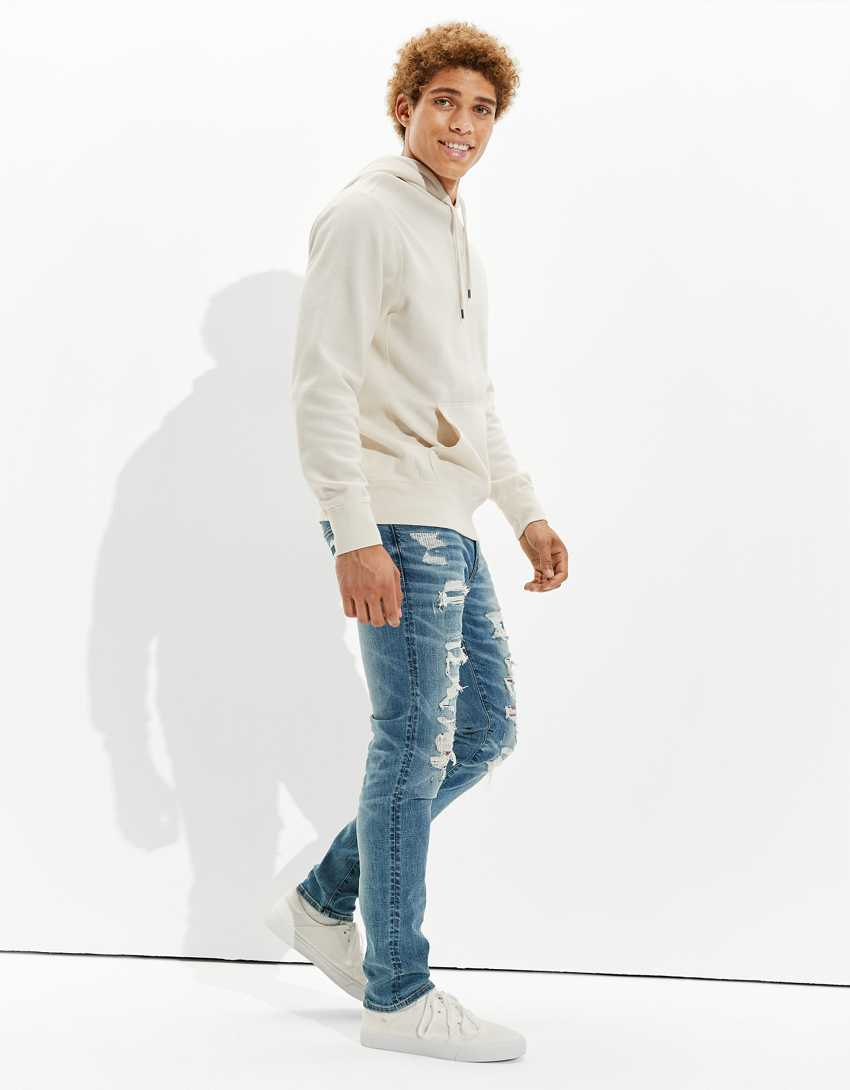 AE AirFlex+ Patched Athletic Skinny Jean