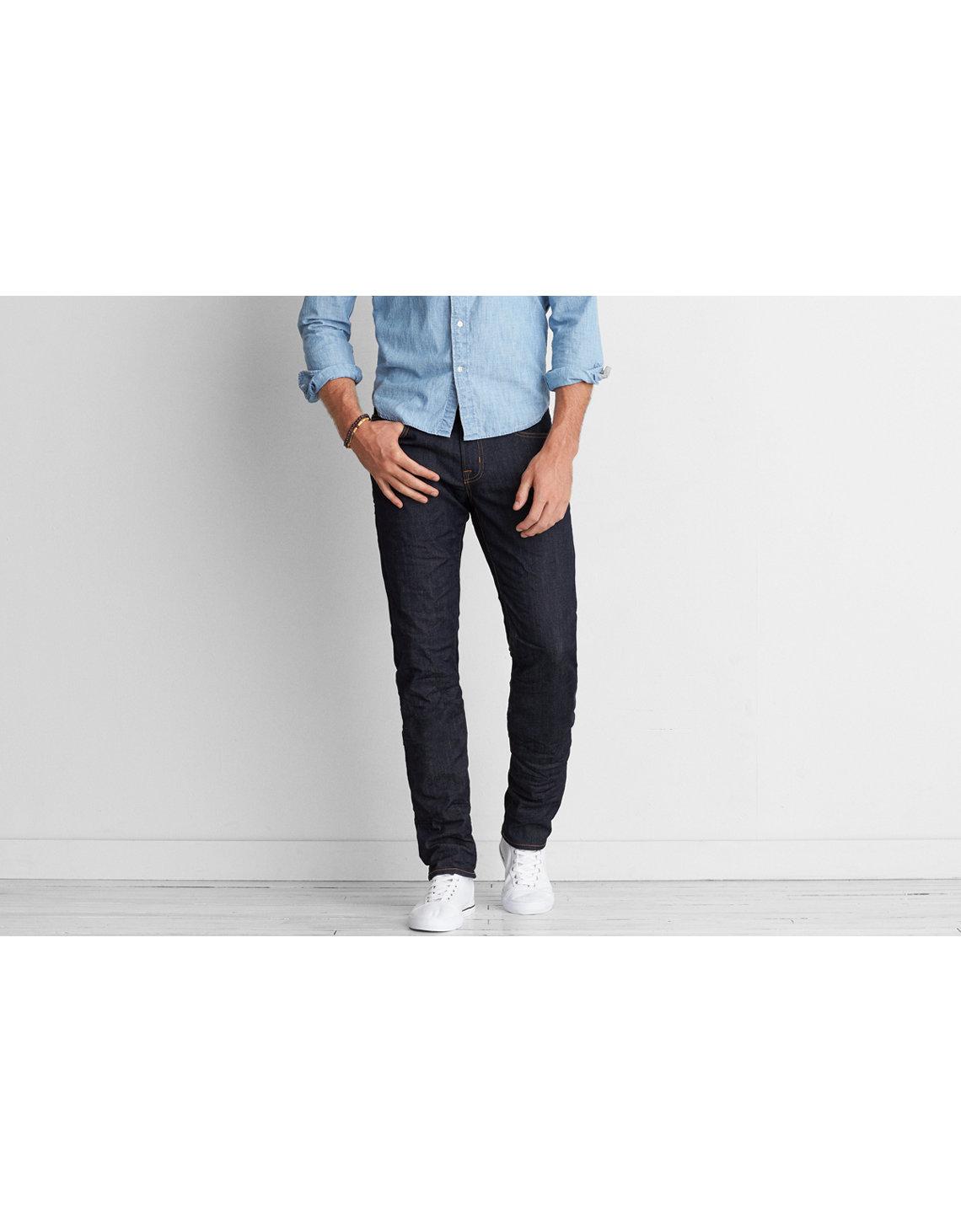 Mens jeans design legends jeans - Ae Extreme Flex Slim Straight Jean