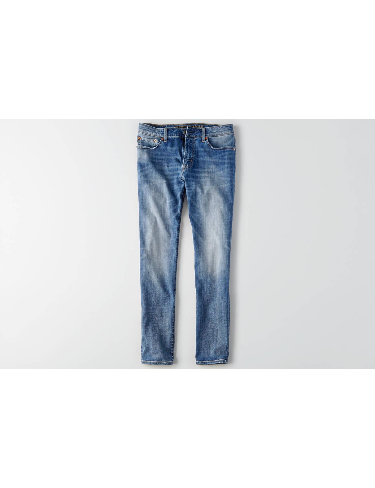 Herren jeans low rise bootcut