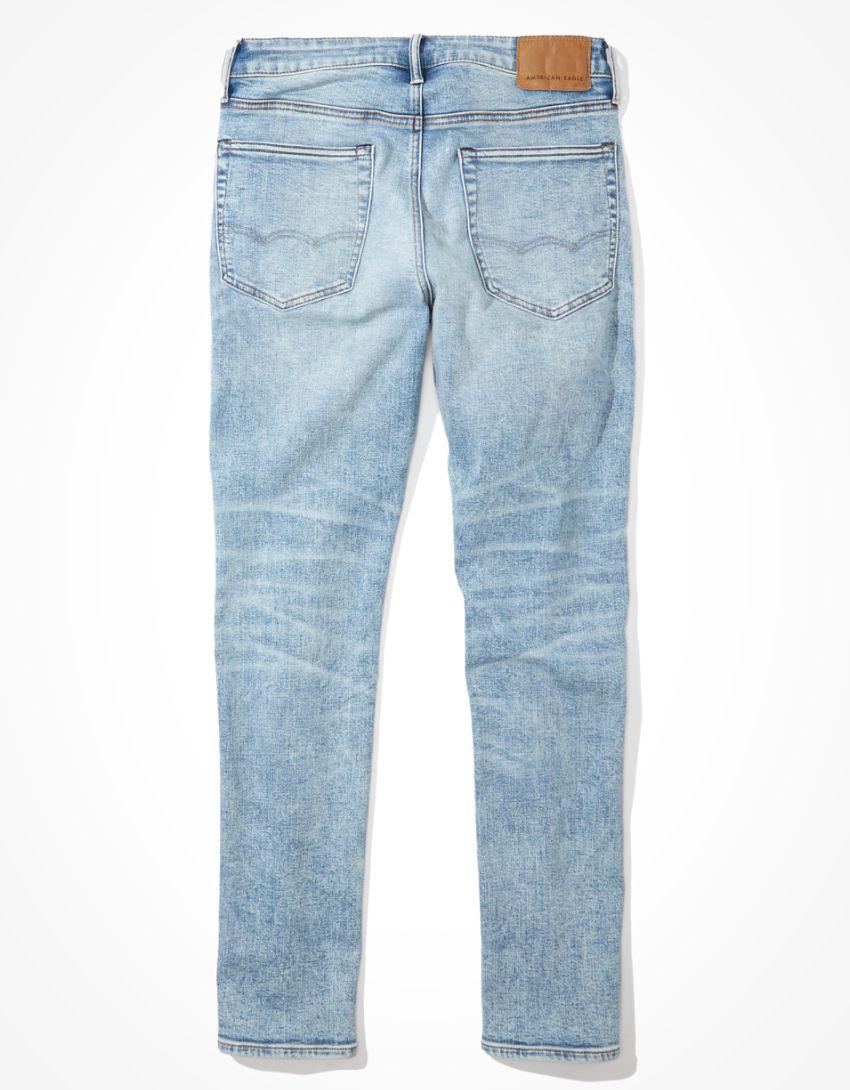 NWT AMERICAN EAGLE Next Level Airflex Slim Jeans 32x34 Carpenter #183