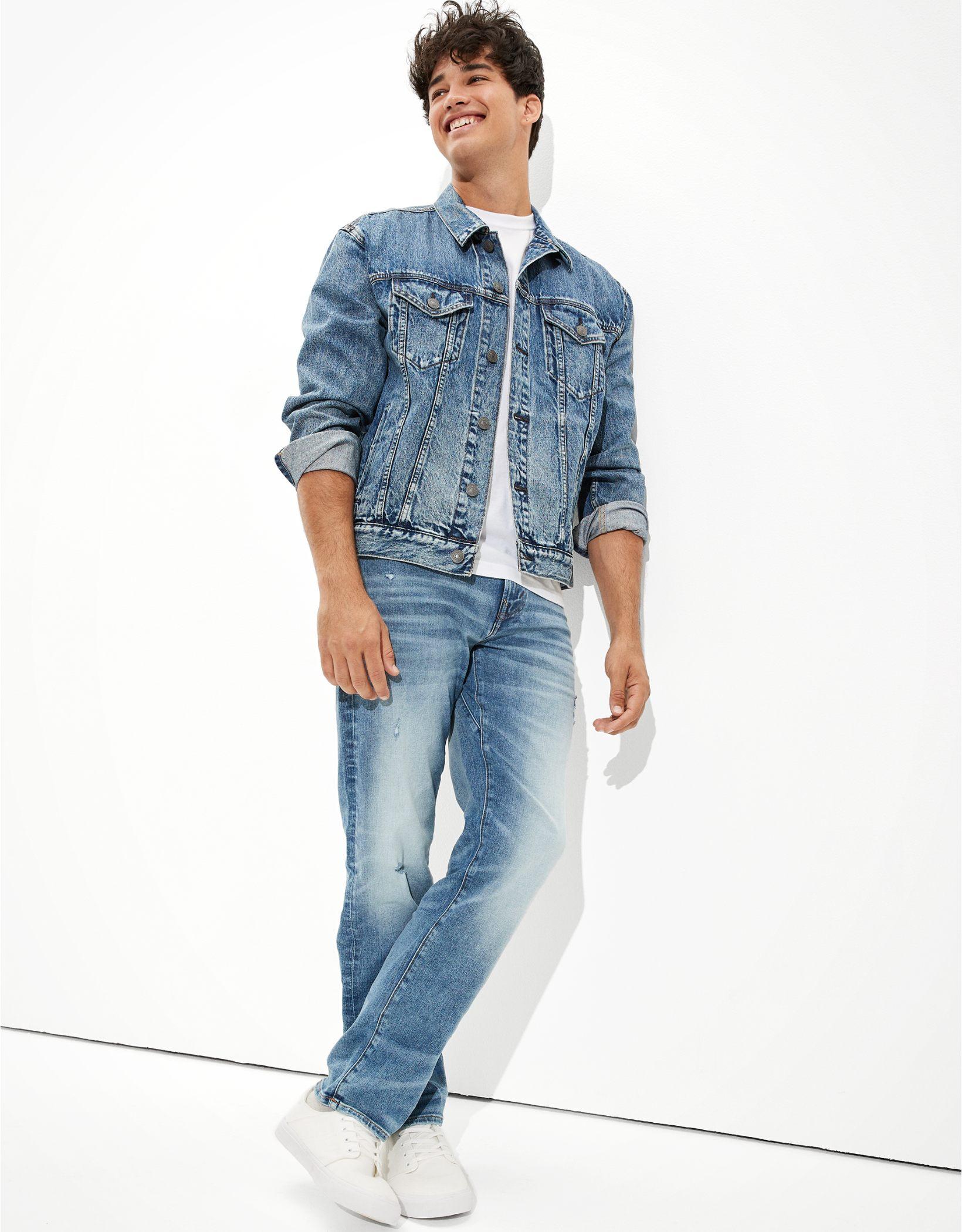 AE AirFlex+ Ripped Move-Free Slim Straight Jean