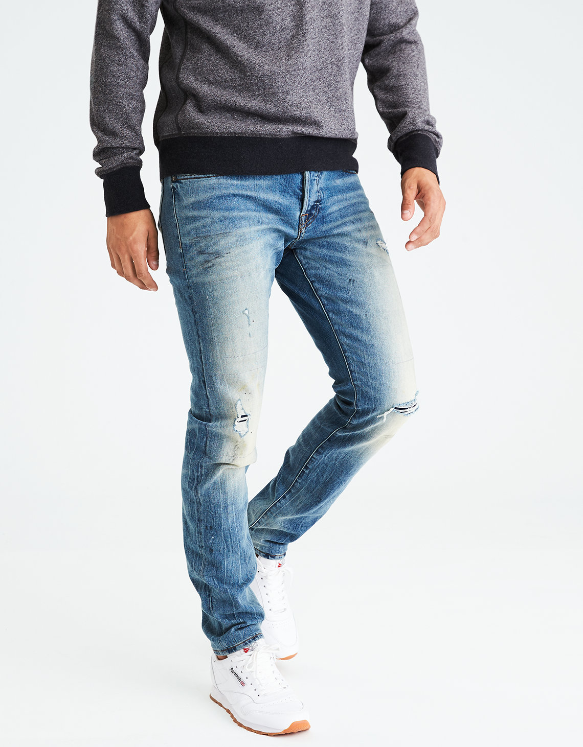 AE Core Flex Slim Selvedge Jean. Placeholder image. Product Image
