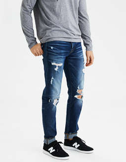 AE Flex Slim Selvedge Jean