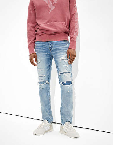 AE Flex Patched Slim Jean