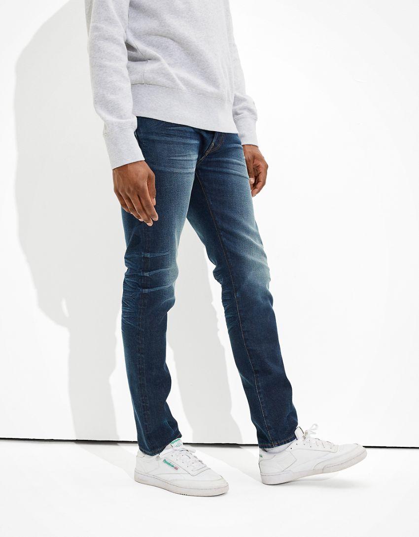 AE Flex Selvedge Slim Jean