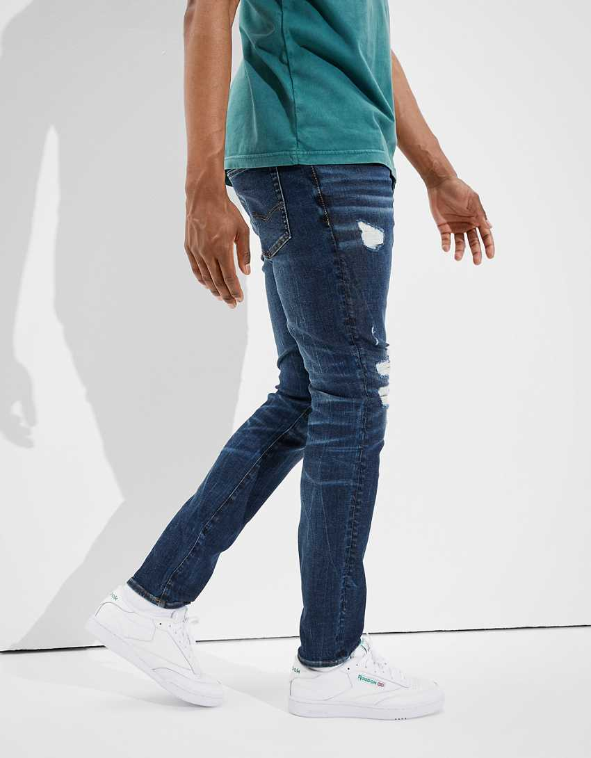 AE AirFlex 360 Patched Move-Free Slim Jean