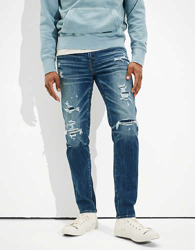 AE AirFlex+ Patched Move-Free Athletic Fit Jean