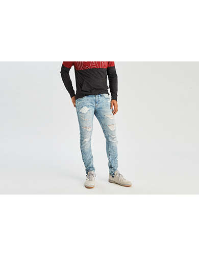 American eagle long skinny jeans