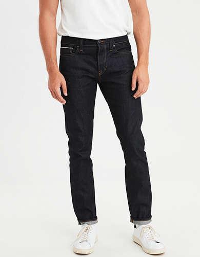 Ae Skinny Selvedge Raw Jean