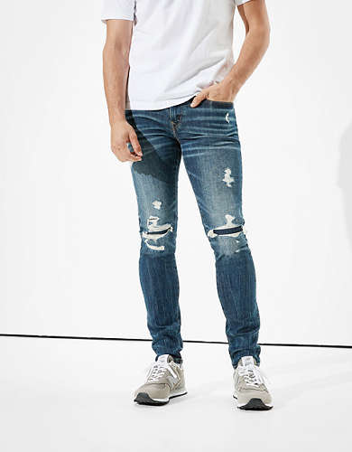 AE AirFlex+ Patched Skinny Jean