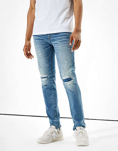 AE Cozy AirFlex+ Patched Skinny Jean