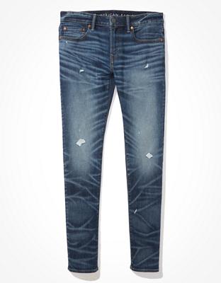 AE AirFlex+ Temp Tech Ripped Skinny Jean