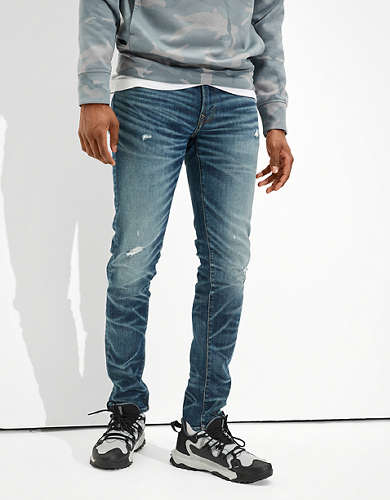 AE AirFlex+ Temp Tech Ripped Skinny Jean