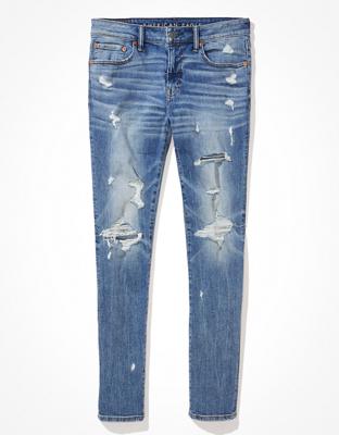 AE AirFlex+ Clean Tech Ripped Skinny Jean
