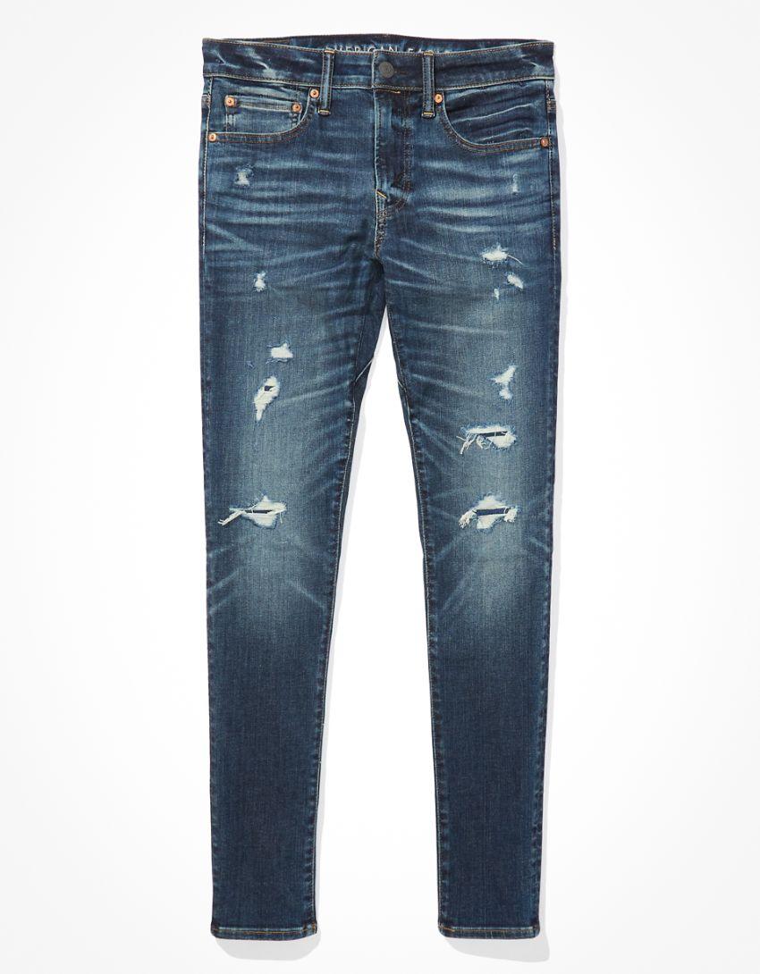 AE AirFlex 360 Move-Free Ripped Skinny Jean
