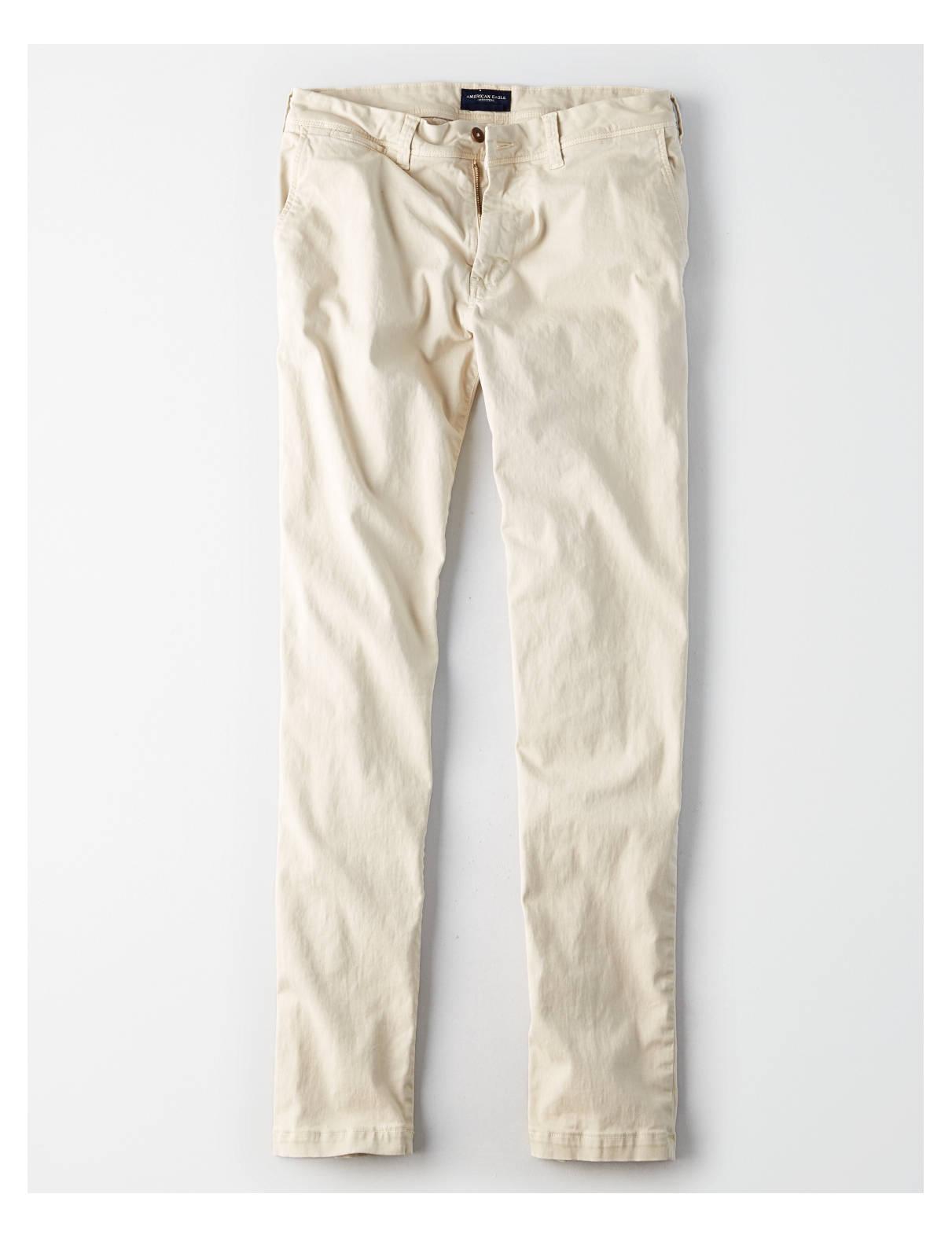 Display product reviews for AE Extreme Flex Slim Straight Khaki Pant