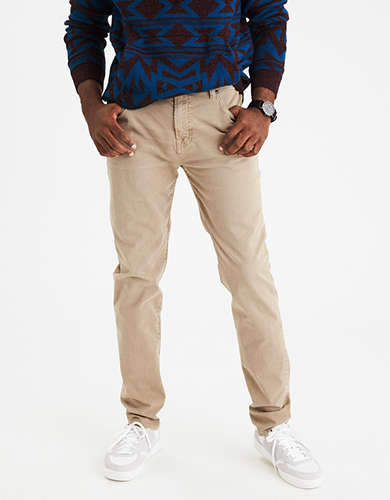 Mens Stretch Pants | American Eagle Outfitters