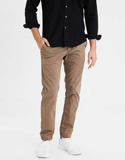 AE Ne(X)t Level Slim Straight Khaki Pant