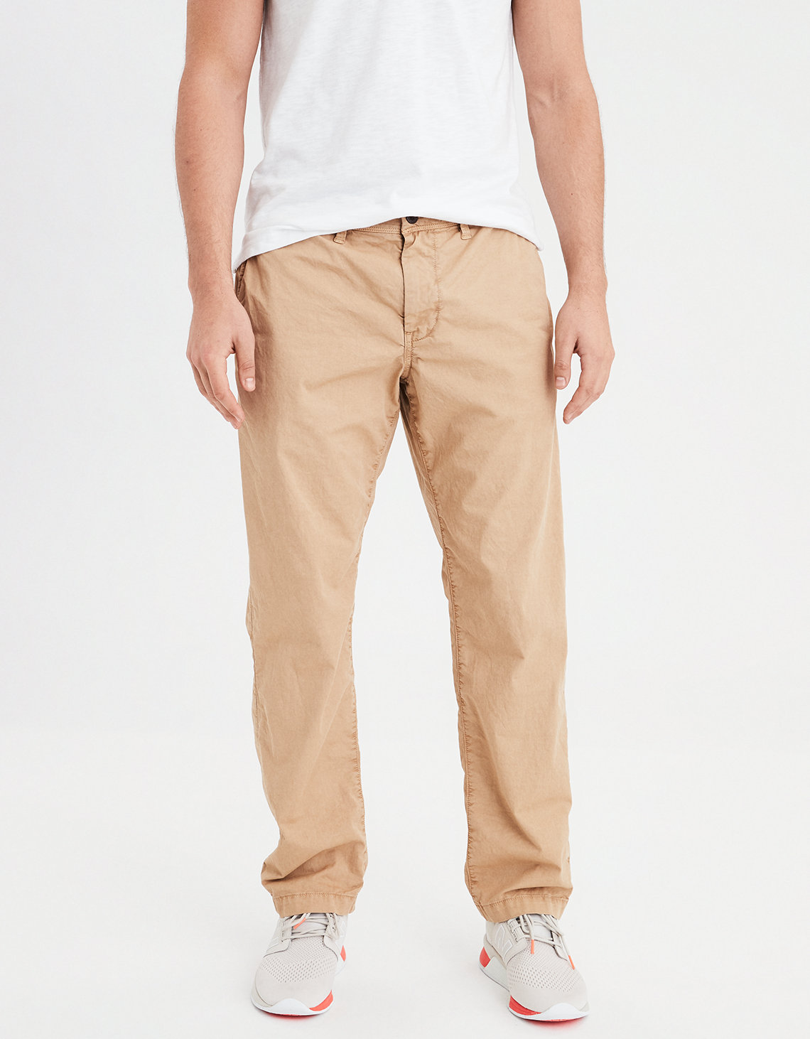 AE Ne(X)t Level Slim Straight Khaki Pant f9ae4c7116e5